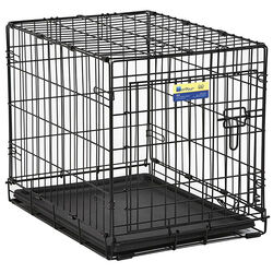 Contour  Small  Steel  Dog Crate  Black  19 in. H x 24 in. W x 18 in. D