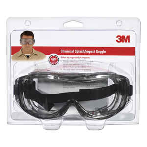 3M  Silver  Clear  Safety Glasses  1  Anti-Fog