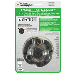 Weed Warrior  Push-N-Load  2-Line  0.095 in. Dia. x 10.13  L x 0.095 in. Dia. Trimmer Head