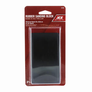 Ace  2-1/2 in. W x 4-3/4 in. L Assorted  Sanding Block