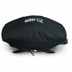Weber  Black  Grill Cover  32.3 in. W x 18.9 in. D x 12.6 in. H For Fits Q200/2000 Series Grills