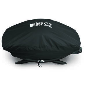 Weber  Black  Grill Cover  12.6 in. H x 18.9 in. D x 32.3 in. W For Fits Q200/2000 Series Grills