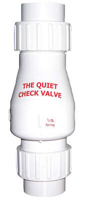 Magic Plastics  2 in. Dia. Plastic  Quiet  Check Valve