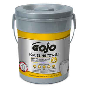 Gojo  Heavy Duty  Fresh Citrus Scent Scrubbing Towels