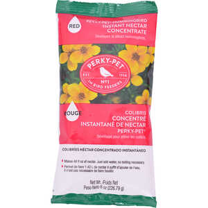 Perky-Pet  Hummingbird  Instant Nectar Concentrate  Sucrose  8 oz.