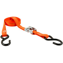 Keeper 1 in. W x 15 ft. L Orange Tie Down 400 lb. 1 pk