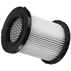 DeWalt  5.25  L x 4.5 in. W Wet/Dry Vac HEPA Replacement Filter  1 pc.