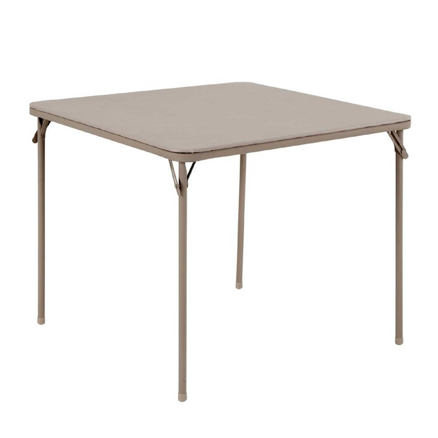 Cosco  28 in. H x 33-3/4 in. W x 33-3/4 in. L Square  Folding Table