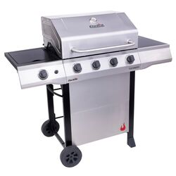 Char-Broil Performance 4B 4 burner Liquid Propane Grill Stainless Steel