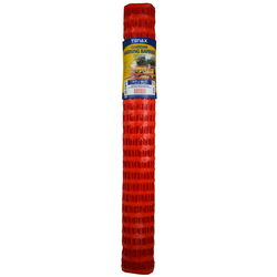 Tenax  Guardian  4 ft. H x 100 ft. L Polyethylene  Warning  Barrier  Orange