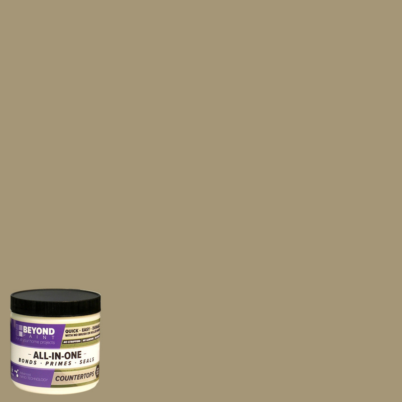 BEYOND PAINT  All-In-One  Khaki  Water-Based  Acrylic  Paint Kit  1 qt. Matte