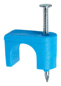 Gardner Bender  1/4 in. W Plastic  Insulated Cable Staple  25 pk