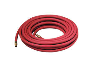 Thermoid  25 ft. L x 1/4 in.  Air Hose  EPDM Rubber  250 psi Red