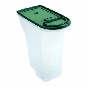 Remington  Plastic  8 qt. Pet Food Container  For Universal