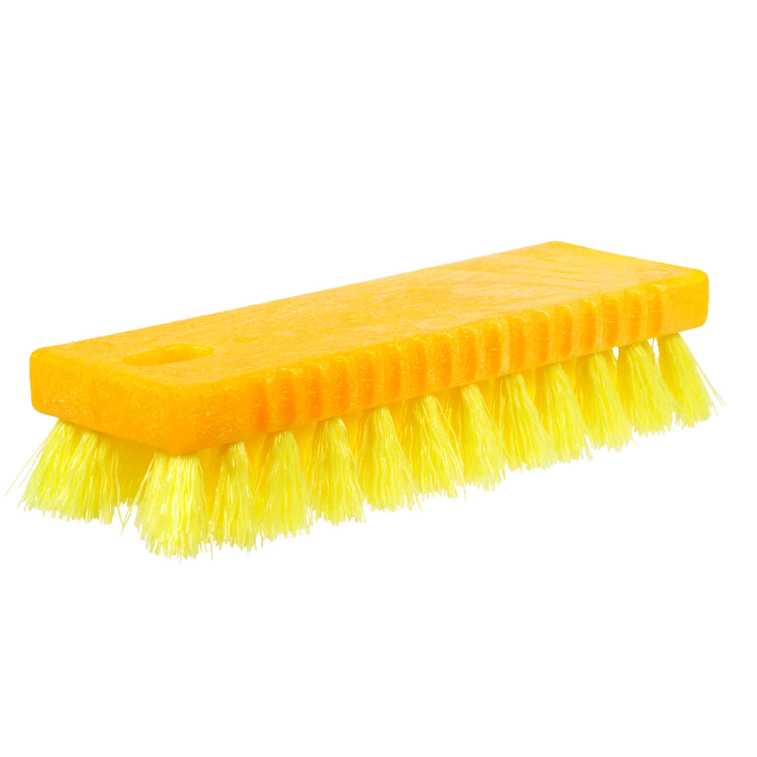 Rubbermaid  2.25 in. W Scrub Brush  Plastic