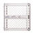 North States  Gray  26 in. H x 26-42 in. W Plastic  Child Safety Gate