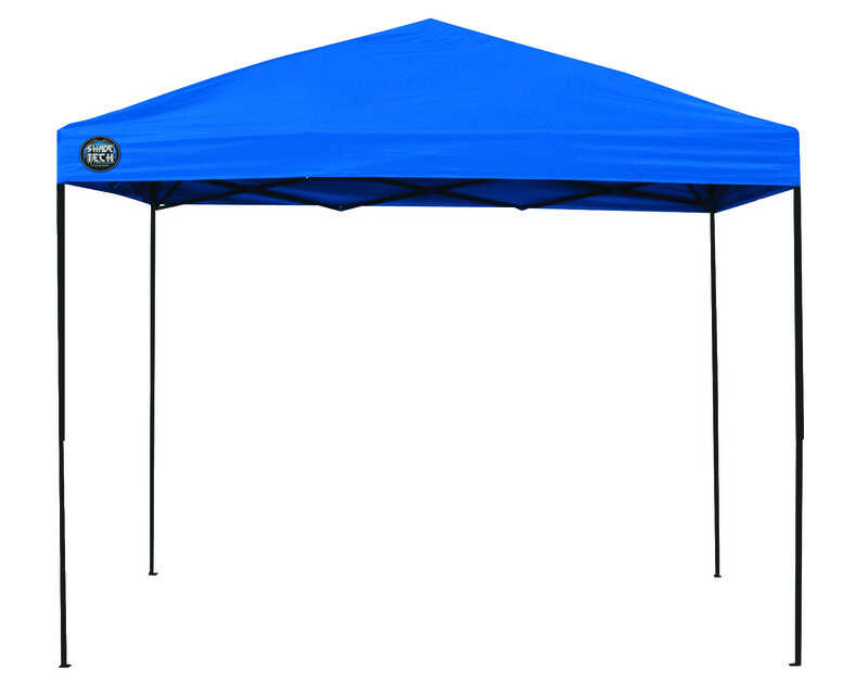 Quik Shade Polyester Canopy 8 Ft 10 5 In H X 10 Ft W X 10 Ft L