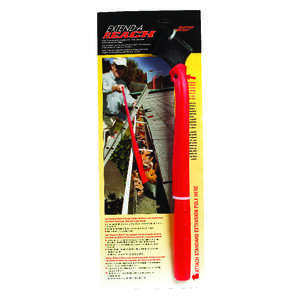 Gutter Getter  17  L Red/Black  Polypropylene  Gutter Scraper