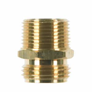 JMF  Brass  3/4 in. Dia. x 3/4 in. Dia. Adapter  1 pk Yellow