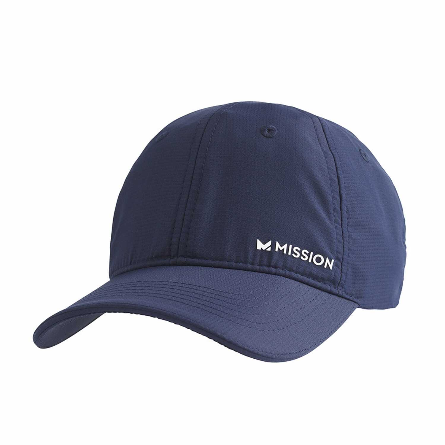 Mission  HydroActive  Cooling  Hat  Blue/White  One Size Fits All