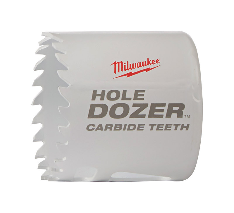 Milwaukee  Hole Dozer  1-7/8 in. Dia. x 1-7/8 in. L Carbide Tipped  1 pc. Hole Saw