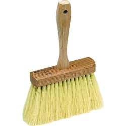 Marshalltown Wood/Natural Fiber Concrete Brush 12 in. L