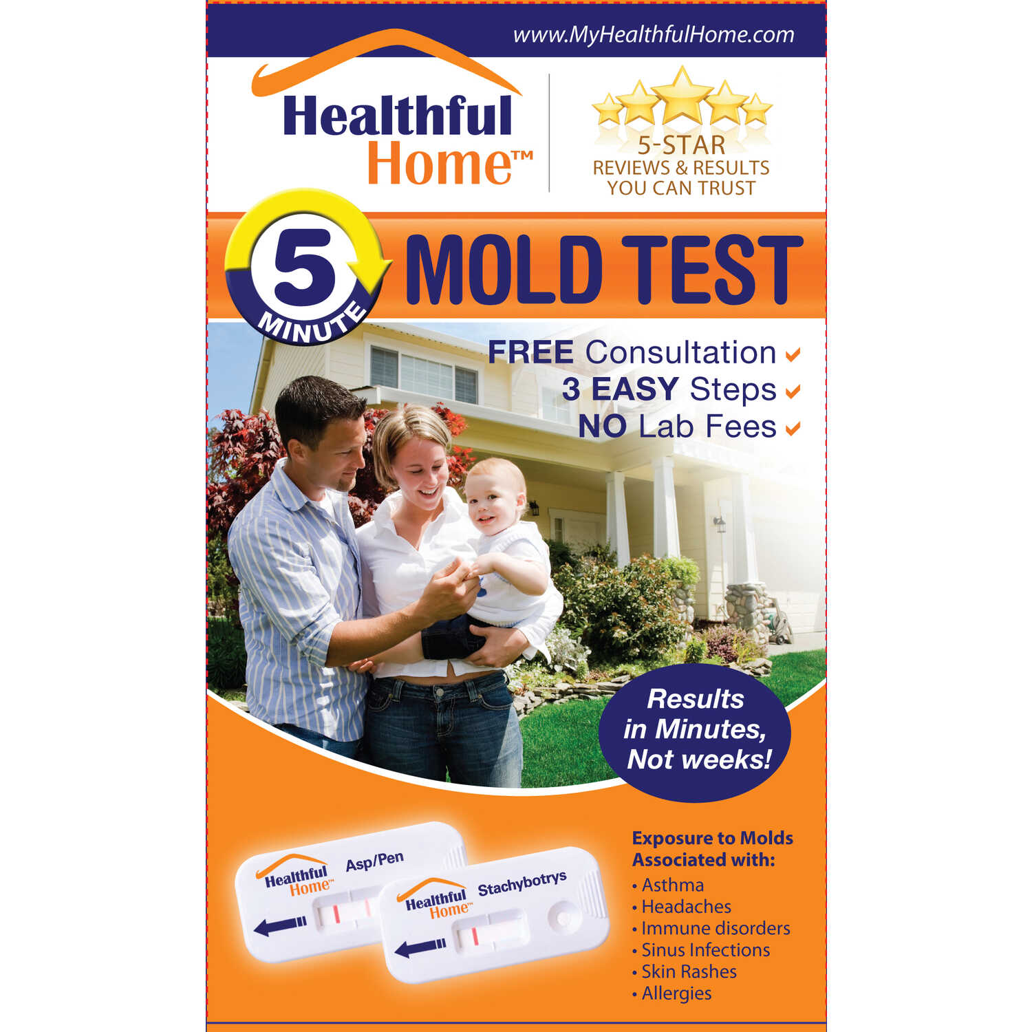 Healthful Home  Alexeter Technologies  Mold Test Kit  1