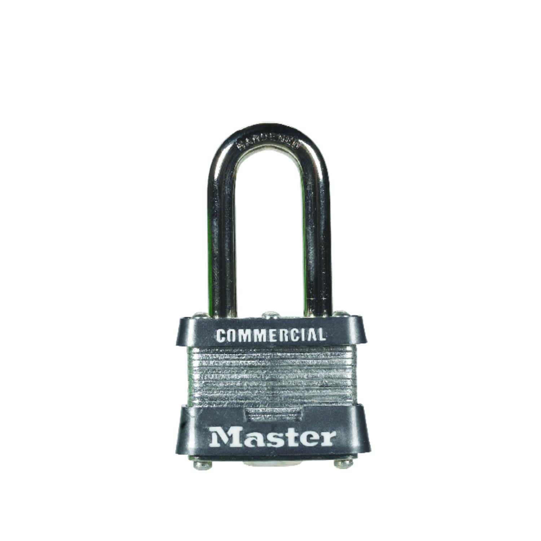 Master Lock 1-5/16 in. H x 1-5/8 in. W Laminated Steel Padlock 6 pk ...