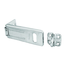 Master Lock  Zinc-Plated  Hardened Steel  3-1/2 in. L Hasp  1