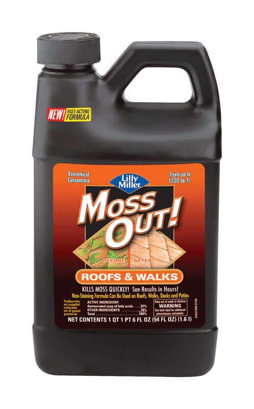 Lilly Miller  Moss Out  Herbicide  Granules  54 oz.