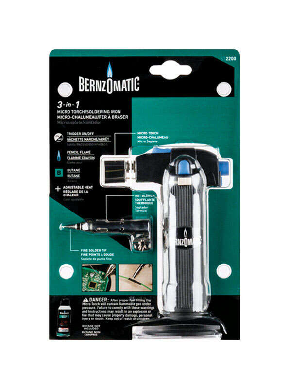 Bernzomatic  5-1/2 oz. Micro Torch Kit