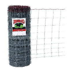 Red Brand  Monarch  39 in. H x 330 ft. L Steel  Field  Fence  Silver
