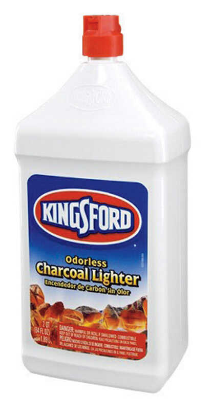 Kingsford  Charcoal Lighter Fluid  64 oz.