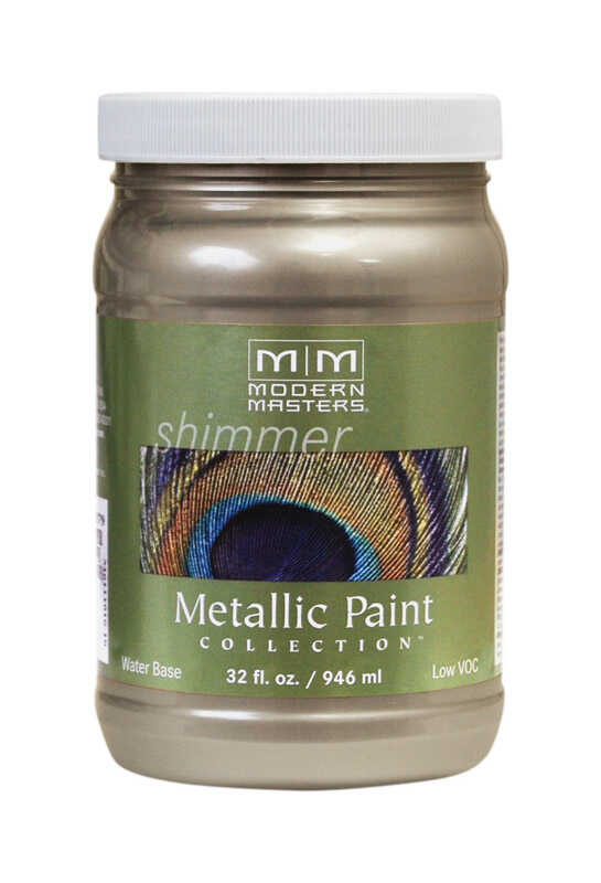 Modern Masters  Nickel  Protective Enamel  1 qt.