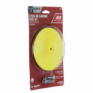 Ace  1/4 in.   Plastic  1 pk 3000 rpm Backing Pad