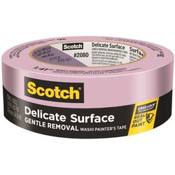 Scotch  1.41 in. W x 60 yd. L Purple  Medium Strength  Painter's Tape  1 pk