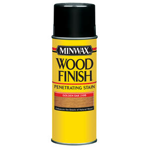 Minwax  Wood Finish  Semi-Transparent  Golden Oak  Oil-Based  Wood Stain  11.5 oz.
