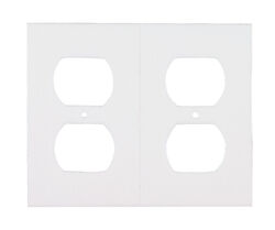 M-D White Foam Wall Plate Sealers 6 pk