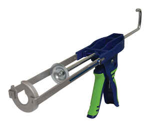Newborn  Hybrid Tech  Lightweight  Steel  Ratchet Rod Caulking Gun