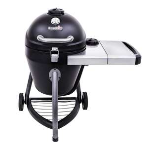 Char-Broil  Kamander  Charcoal  Black  Grill  44.5 in. W x 45-51/64 in. H