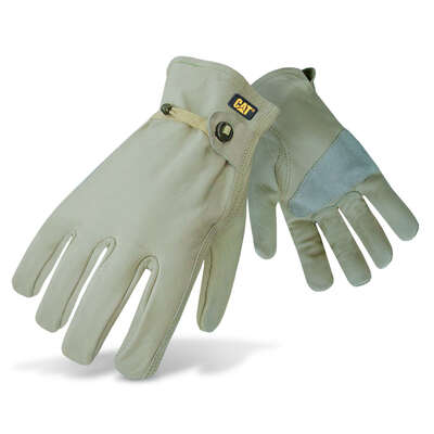 Caterpillar Men's Indoor/Outdoor Gunn Cut Driver Gloves Tan XL 1 pair