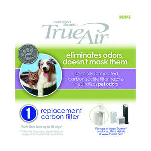 True Air  5.51  W x 5.71  H Rectangular  Air Purifier Filter  HEPA
