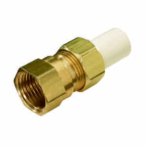 KBI  Schedule 40  1/2 in. FIPT   x 1/2 in. Dia. Spigot  CPVC  Transition Adapter