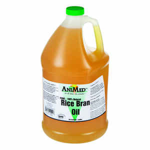 Durvet  Liquid  Rice Bran Oil  For Horse 1 gal.