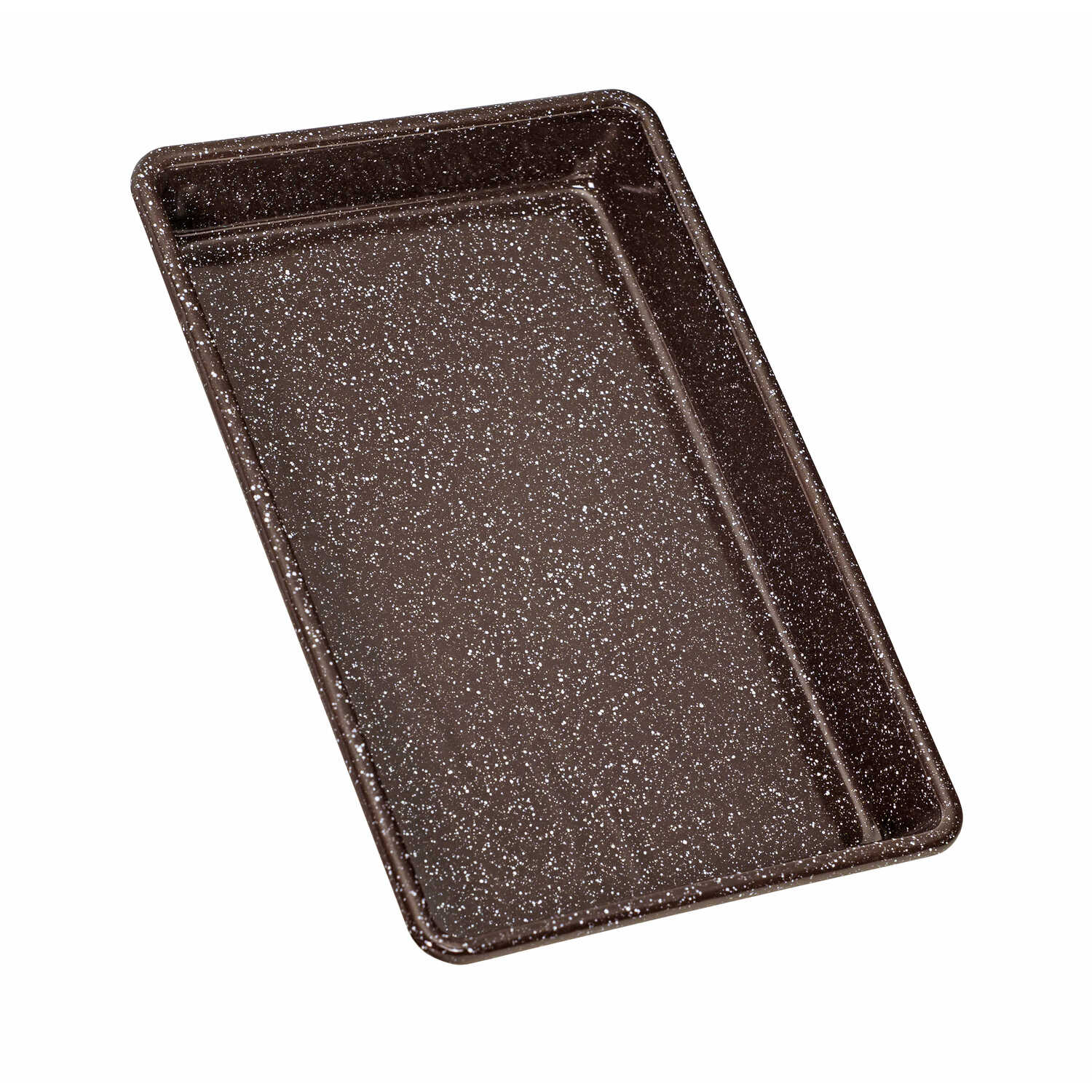 Granite Ware  Better Browning Bakeware  7 in. W x 11 in. L Brownie Pan  Brown  1 pk