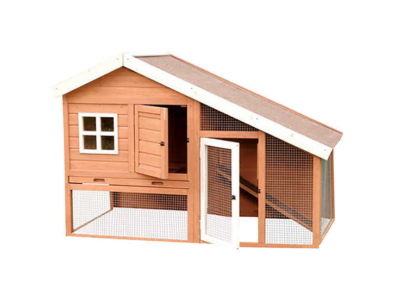 Precision  3 to 4 Chickens  Wood  Chicken Coop
