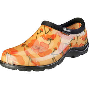 Sloggers  California Dreaming  Women's  Garden/Rain Shoes  8 US  Orange/Yellow