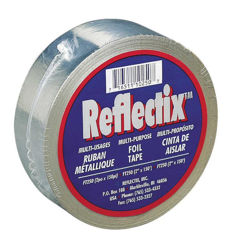 Reflectix  149.5 in. Foil Tape Roll  150 ft. L