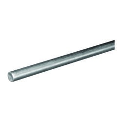 Boltmaster  7/16 in. Dia. x 36 in. L Zinc-Plated Steel  Unthreaded Rod