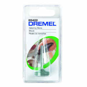 Dremel  25/32 in. Dia. x 25/32 in. L Grinding Stone  Cylinder  35000 rpm 1 pc. Silicon Carbide